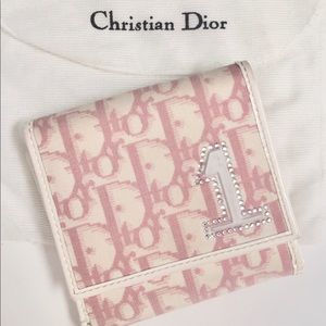 Christian Dior monogram girly wallet